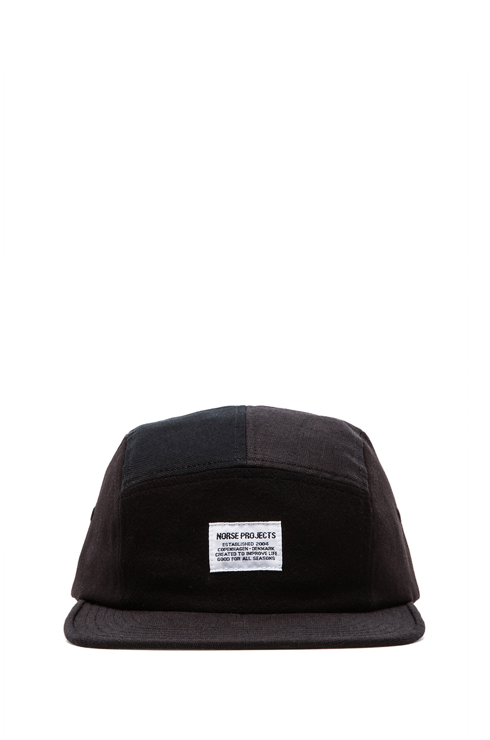 Norse Projects Patchwork 5 Panel in Black