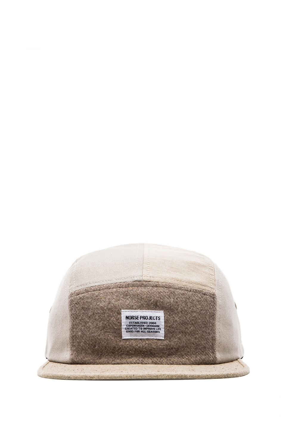 Norse Projects Patchwork 5 Panel in Stone