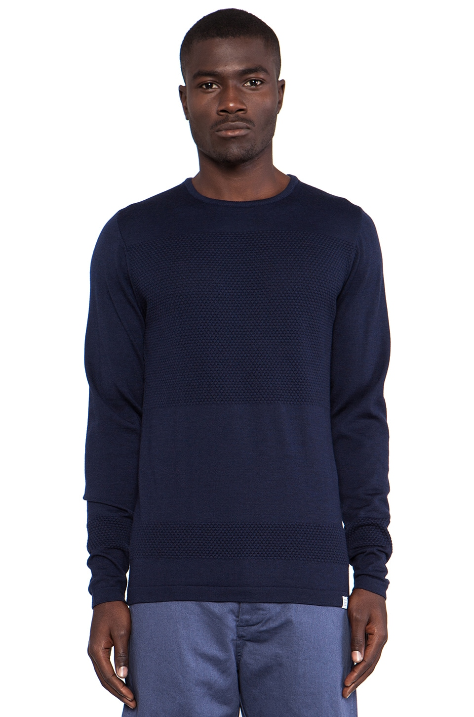 Norse Projects Bubble Crew in Navy