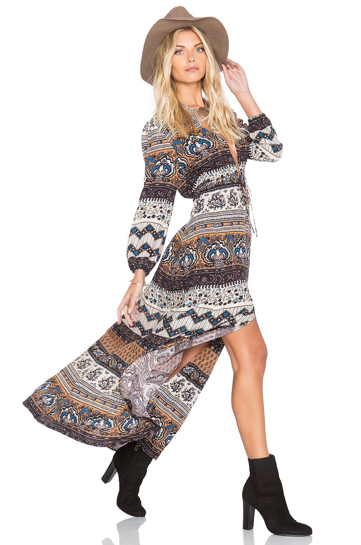NOVELLA ROYALE x REVOLVE Midnight Alley Maxi Dress in Sienna Tangier
