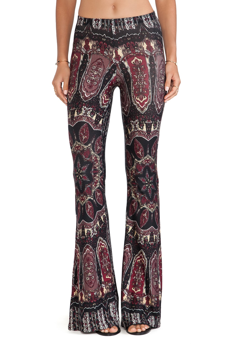NOVELLA ROYALE Janis Bell Bottoms in Dark Dial