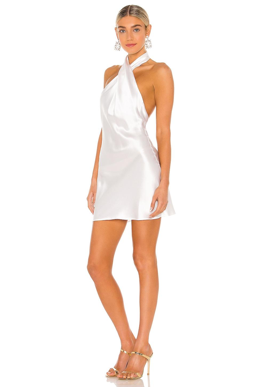 Natalie Rolt Effie Mini Dress in White