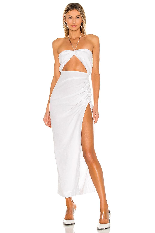 Natalie Rolt Aston Dress in White