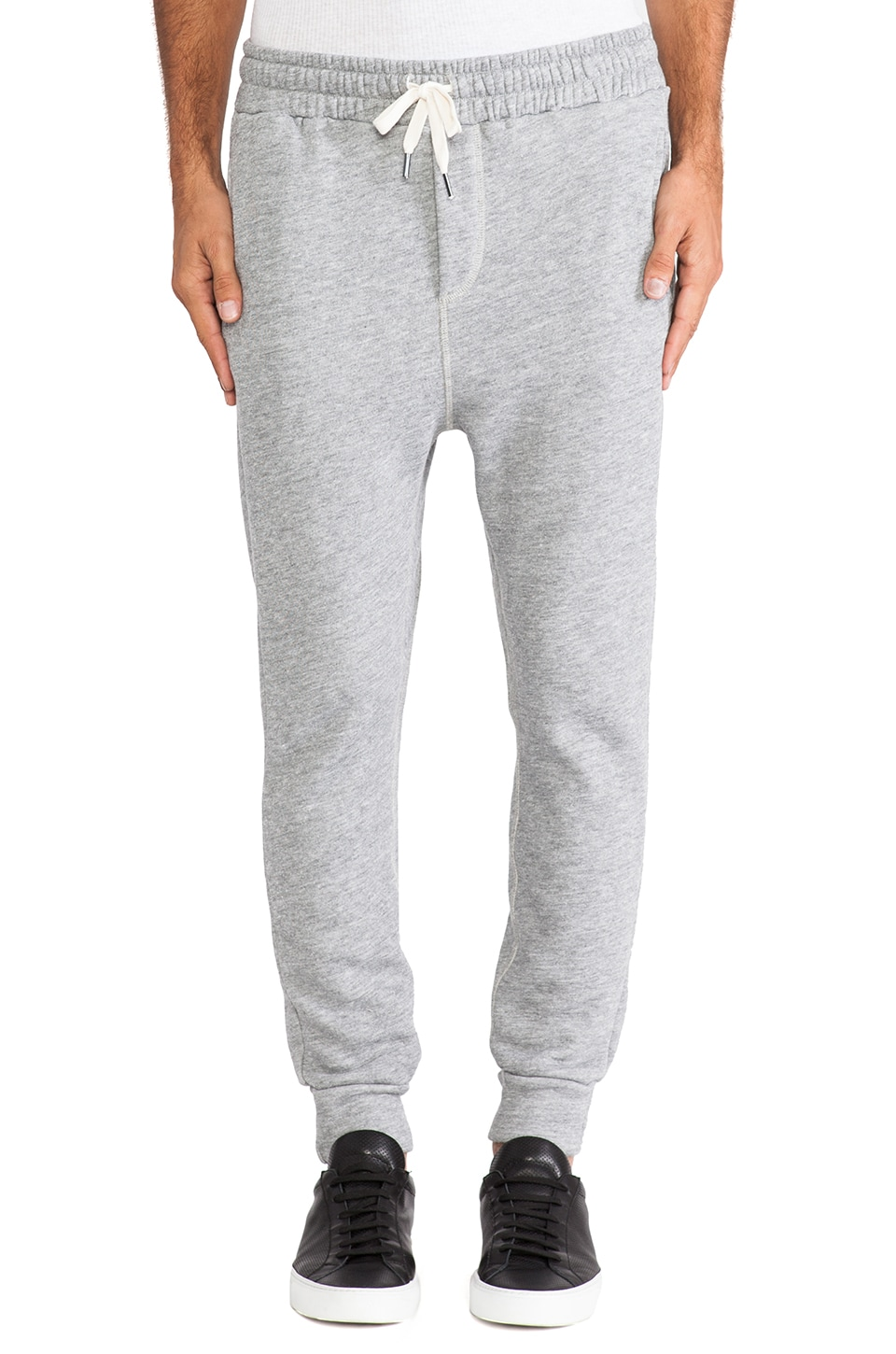 NSF Colby Sweatpant in Heather Grey