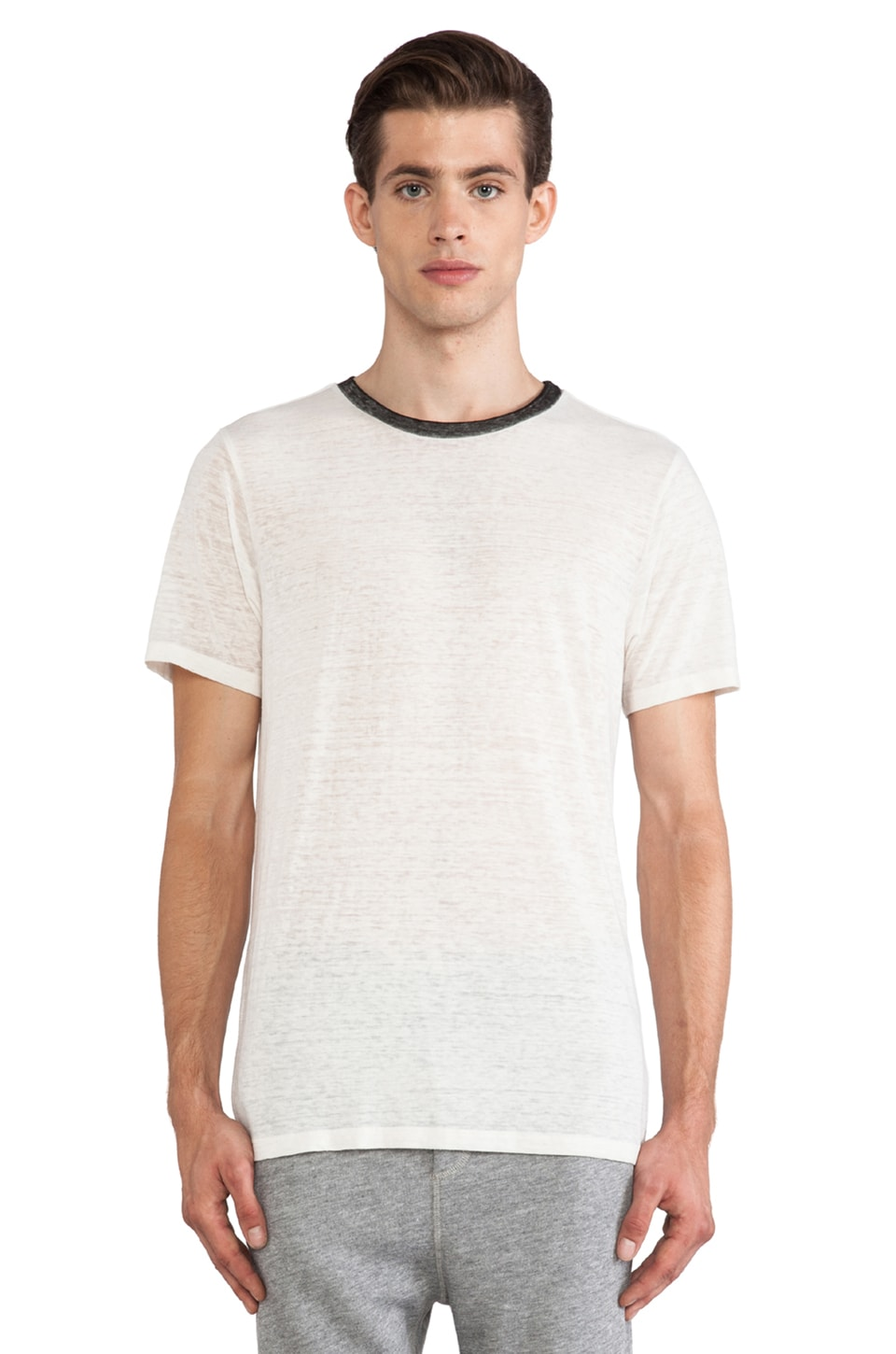 NSF Elliot Tee in White