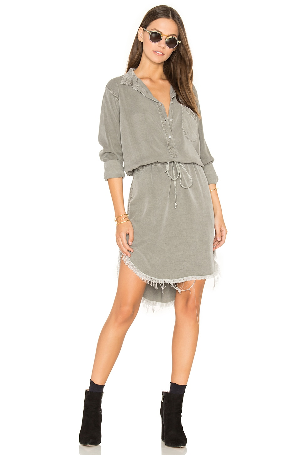 Esther Shirt Dress by NSF