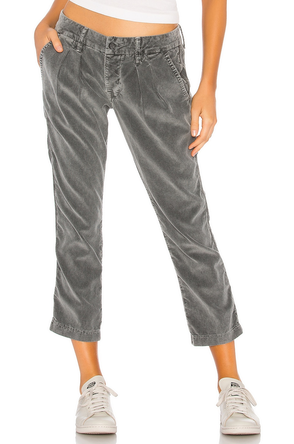 NSF Tuxedo Corduroy Pleated Trouser in Pigment Shade