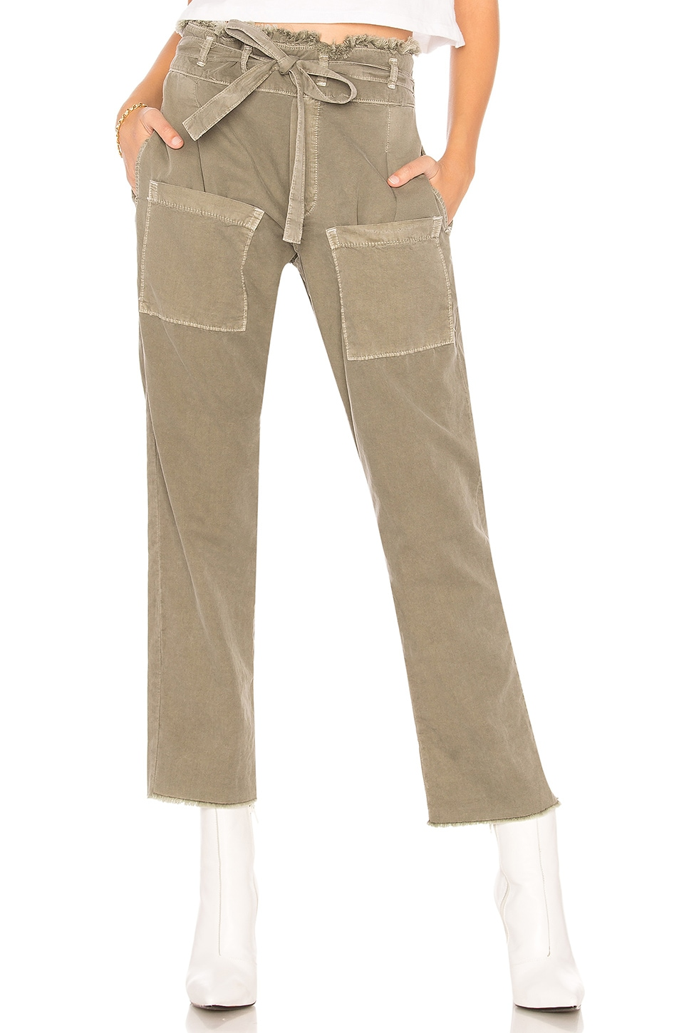 NSF Faro Cropped Pant in Pigment Cargo