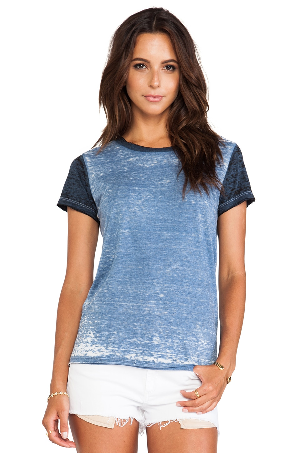 NSF Jagger Tee in Baby Blue