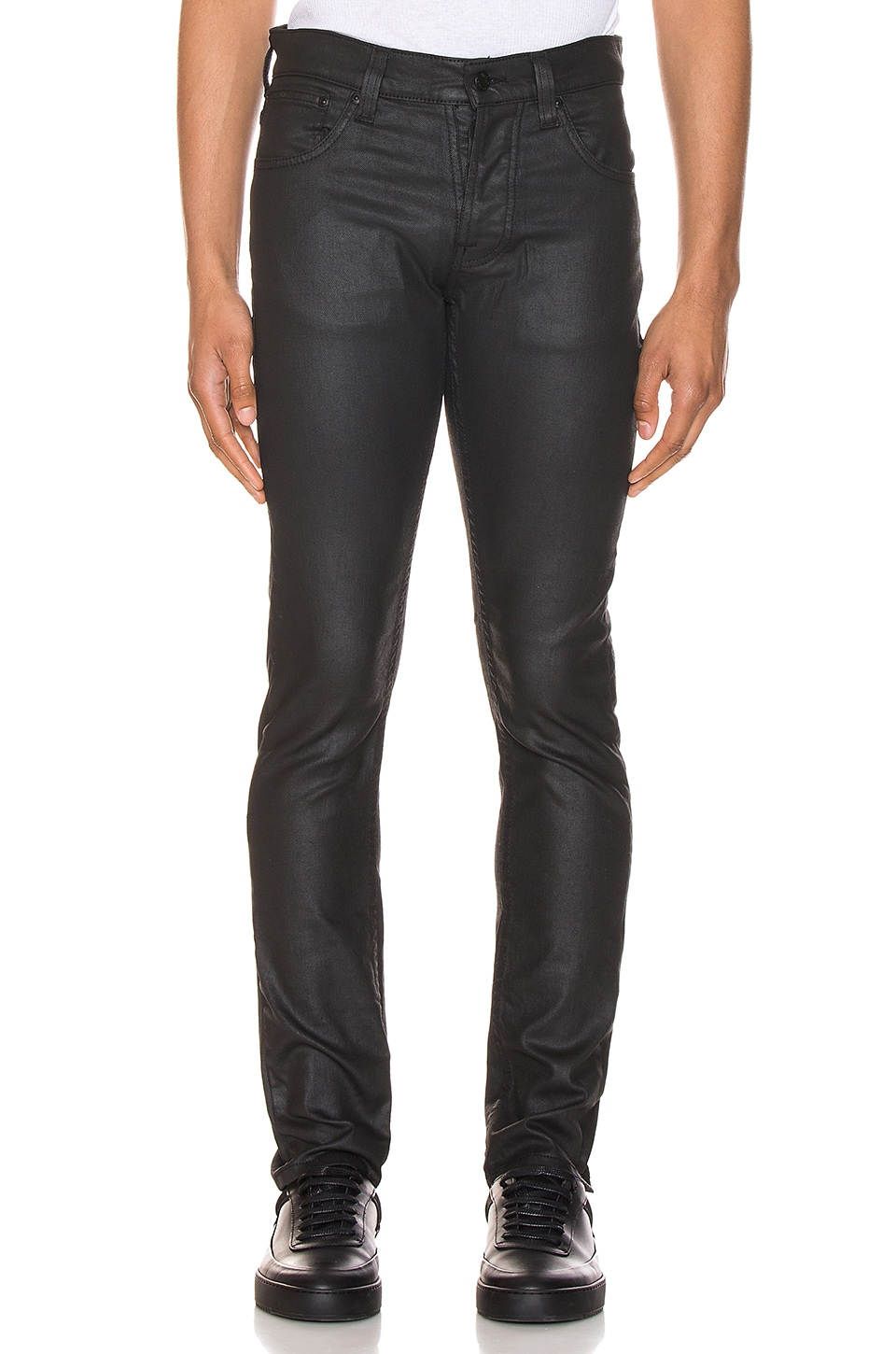 Nudie Jeans Grim Tim in Dry Black Mind