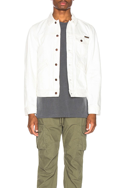 Nudie Jeans Tommy Jean Jacket in Dry Bone