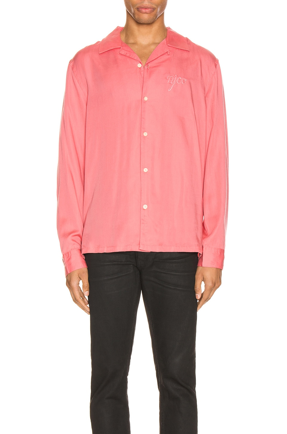 Nudie Jeans Vidar NJCO Shirt in Pink