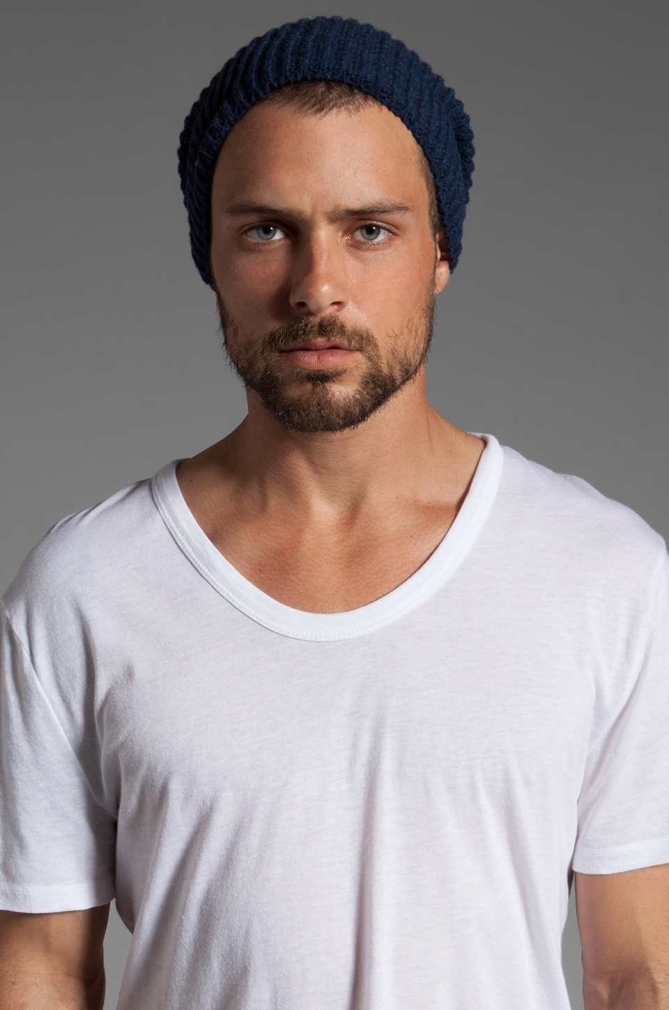 Nudie Jeans Harrisson Beanie in Blue