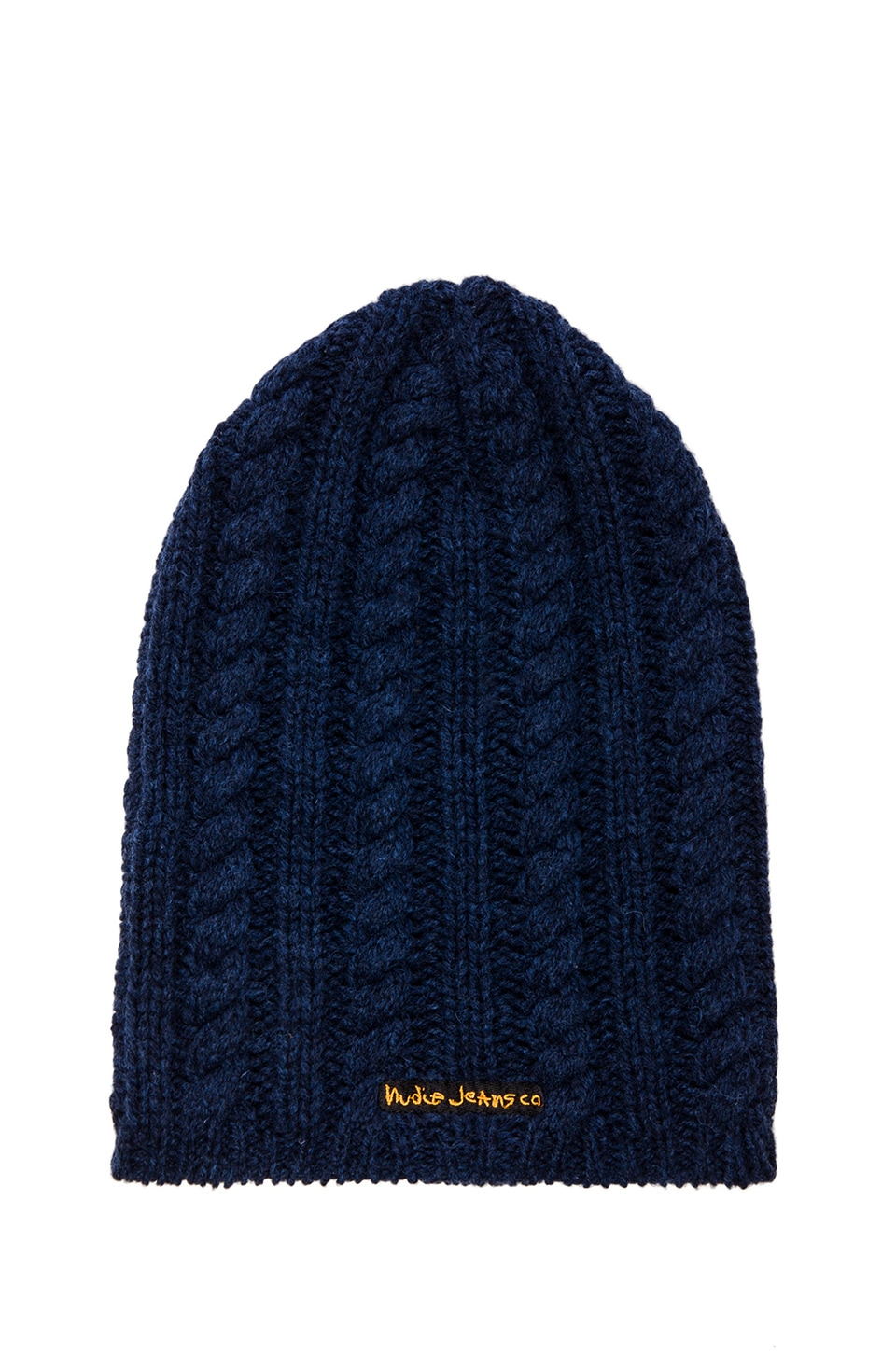 Nudie Jeans Mikaelsson Beanie in Blue