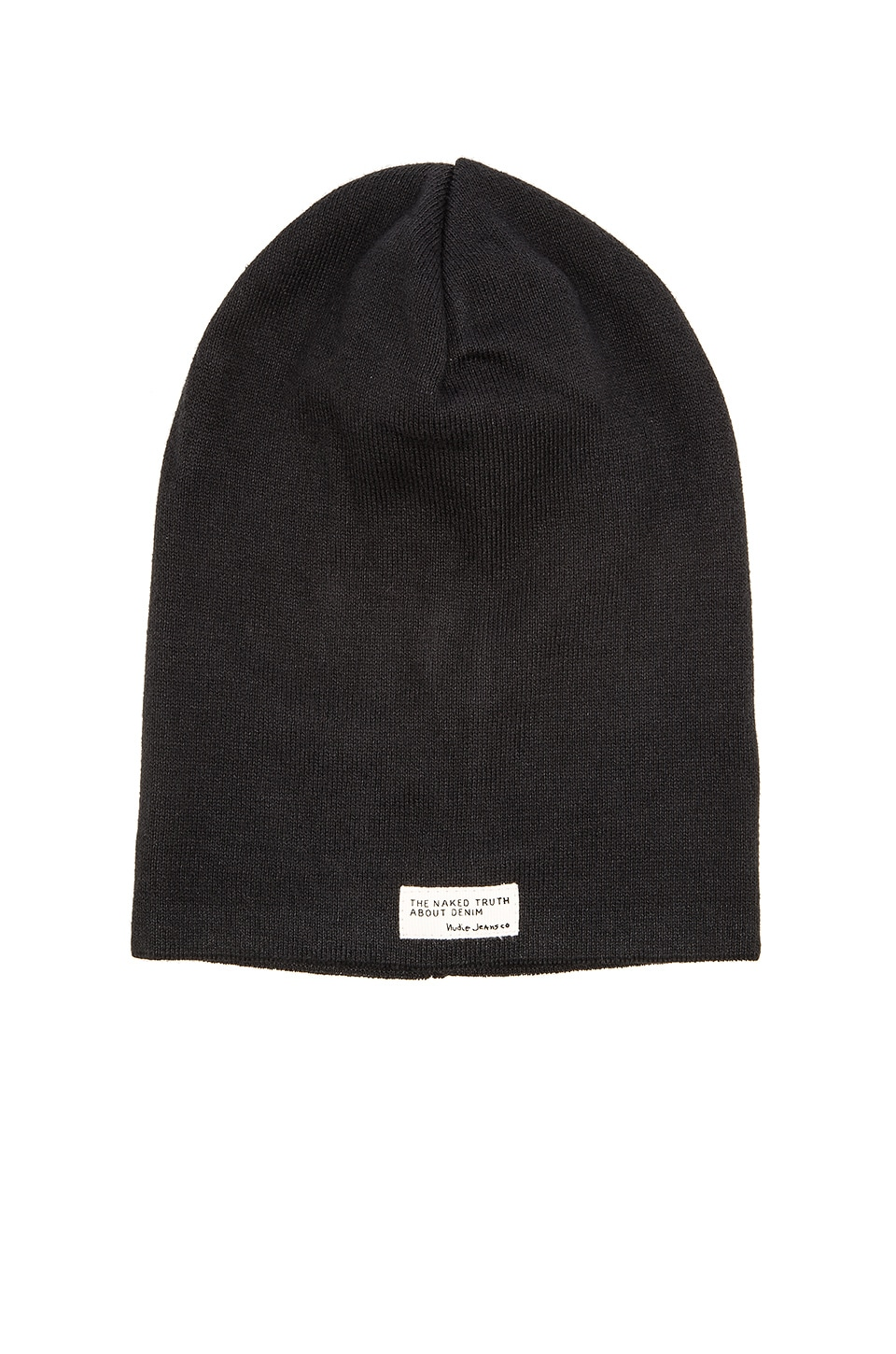 Nudie Jeans Hannesson Beanie in Black