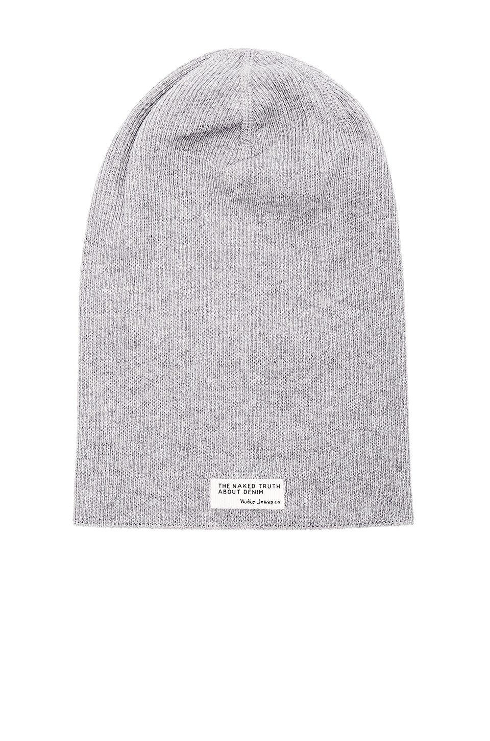 Nudie Jeans Hannesson Beanie in Grey