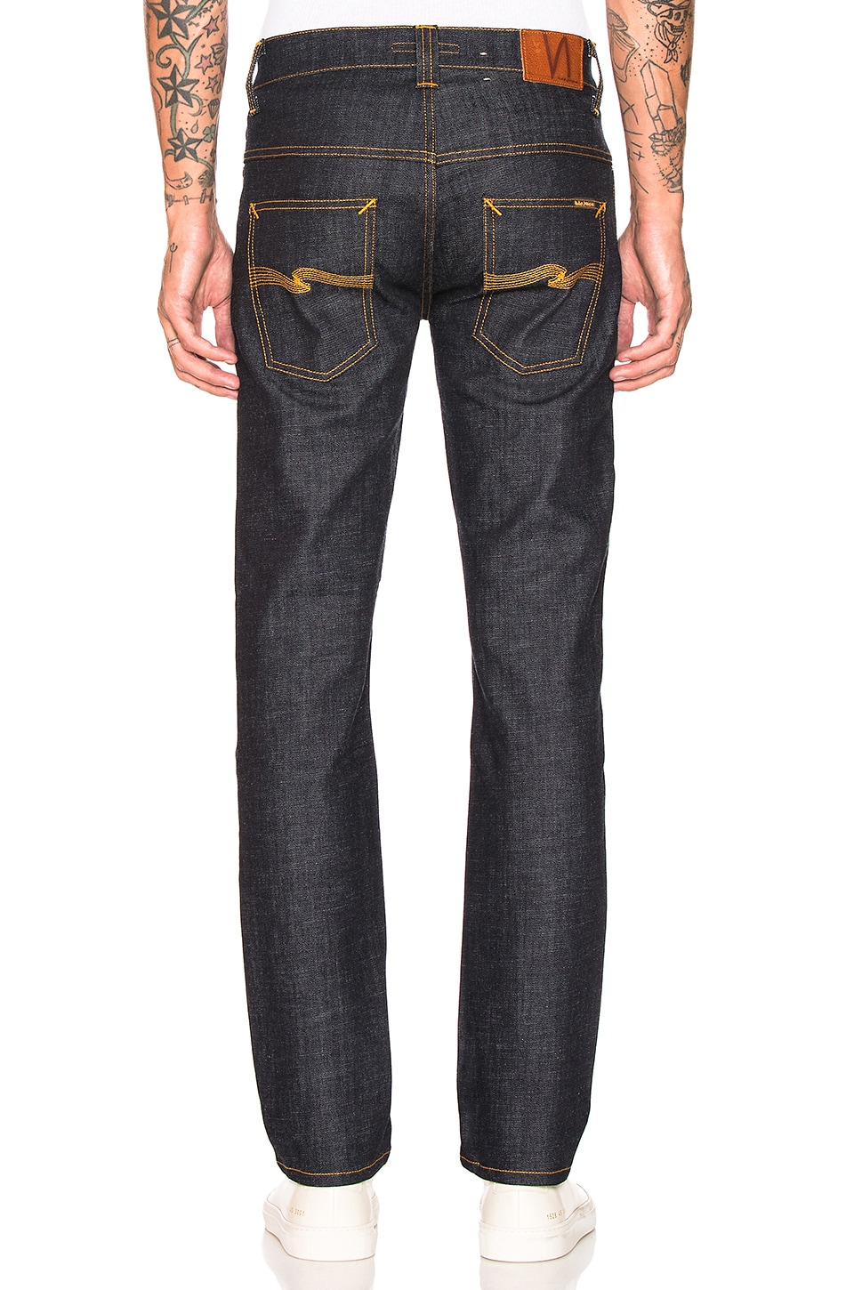 Nudie Jeans Thin Finn in Organic Dry Twill
