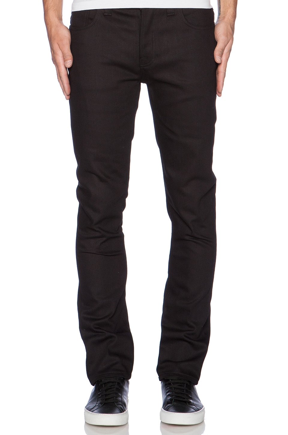 Nudie Jeans Grim Tim in Org. Dry Cold Black