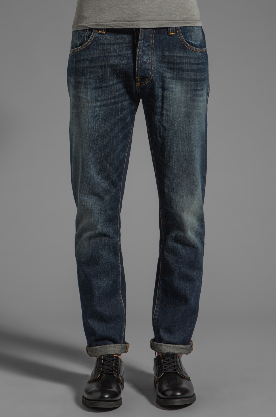 Nudie Jeans Hank Rey in Organic Indigo Depth