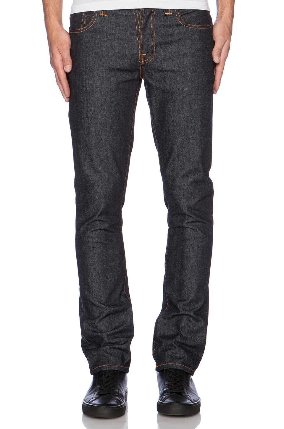 Nudie Jeans Grim Tim in Org. Dry Open Navy