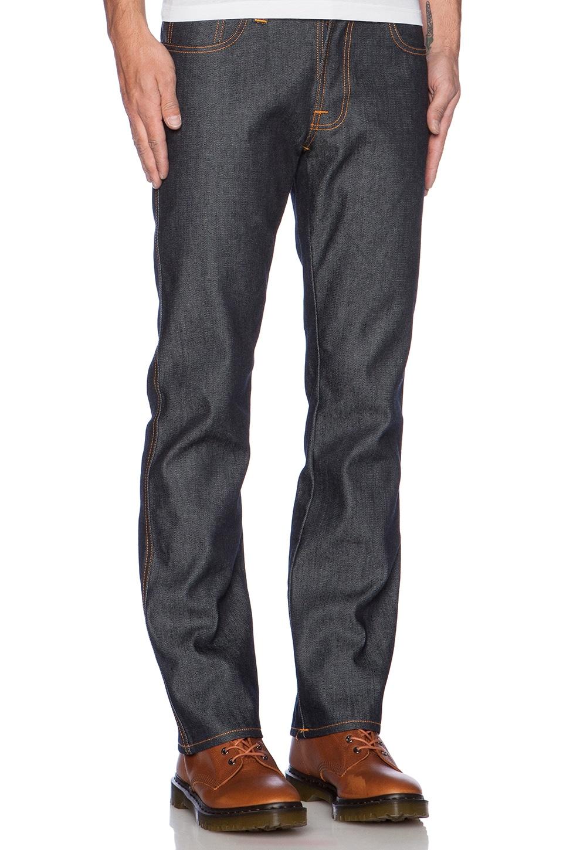 Nudie Jeans Slim Jim in Organic Dry Broken Twill