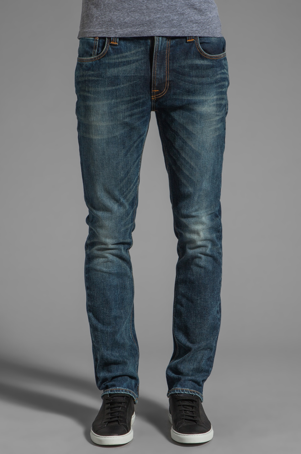 Nudie Jeans Thin Finn in Organic Genuine Love