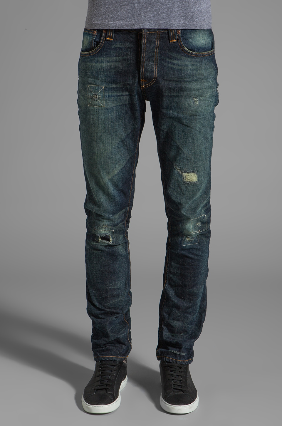 Nudie Jeans Grim Tim in Organic Bob Replica