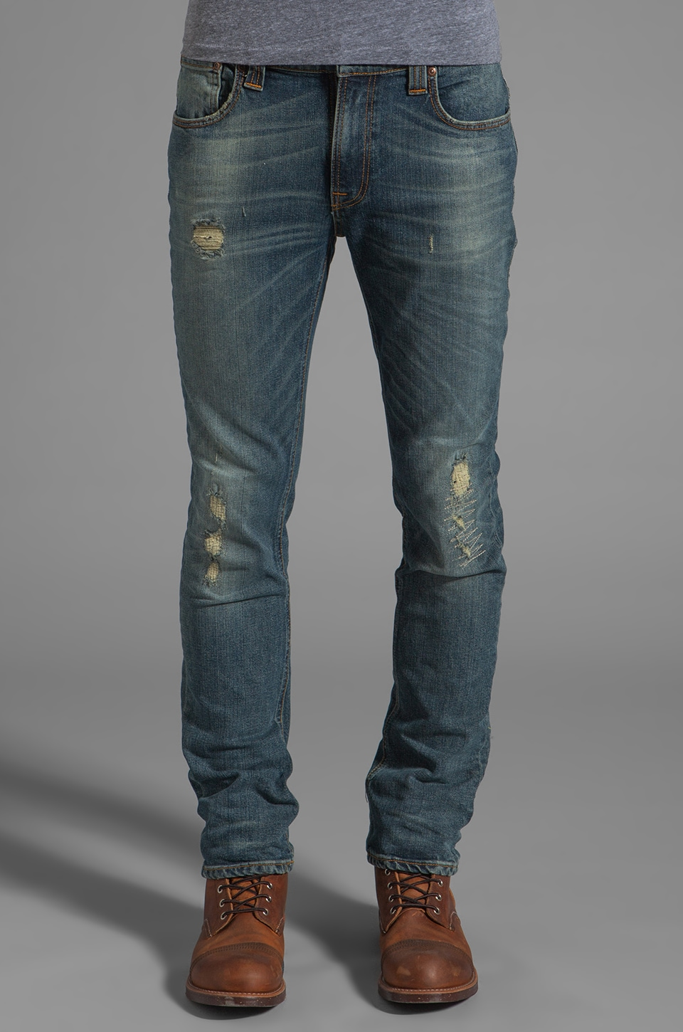 Nudie Jeans Thin Finn in Organic Allen Replica