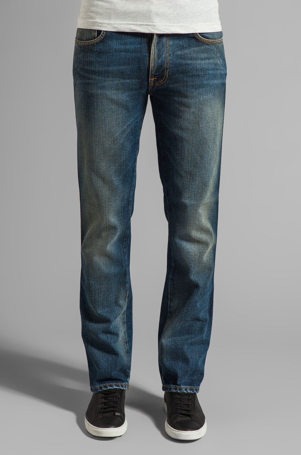 Nudie Jeans Slim Jim in Org. Indigo Mood