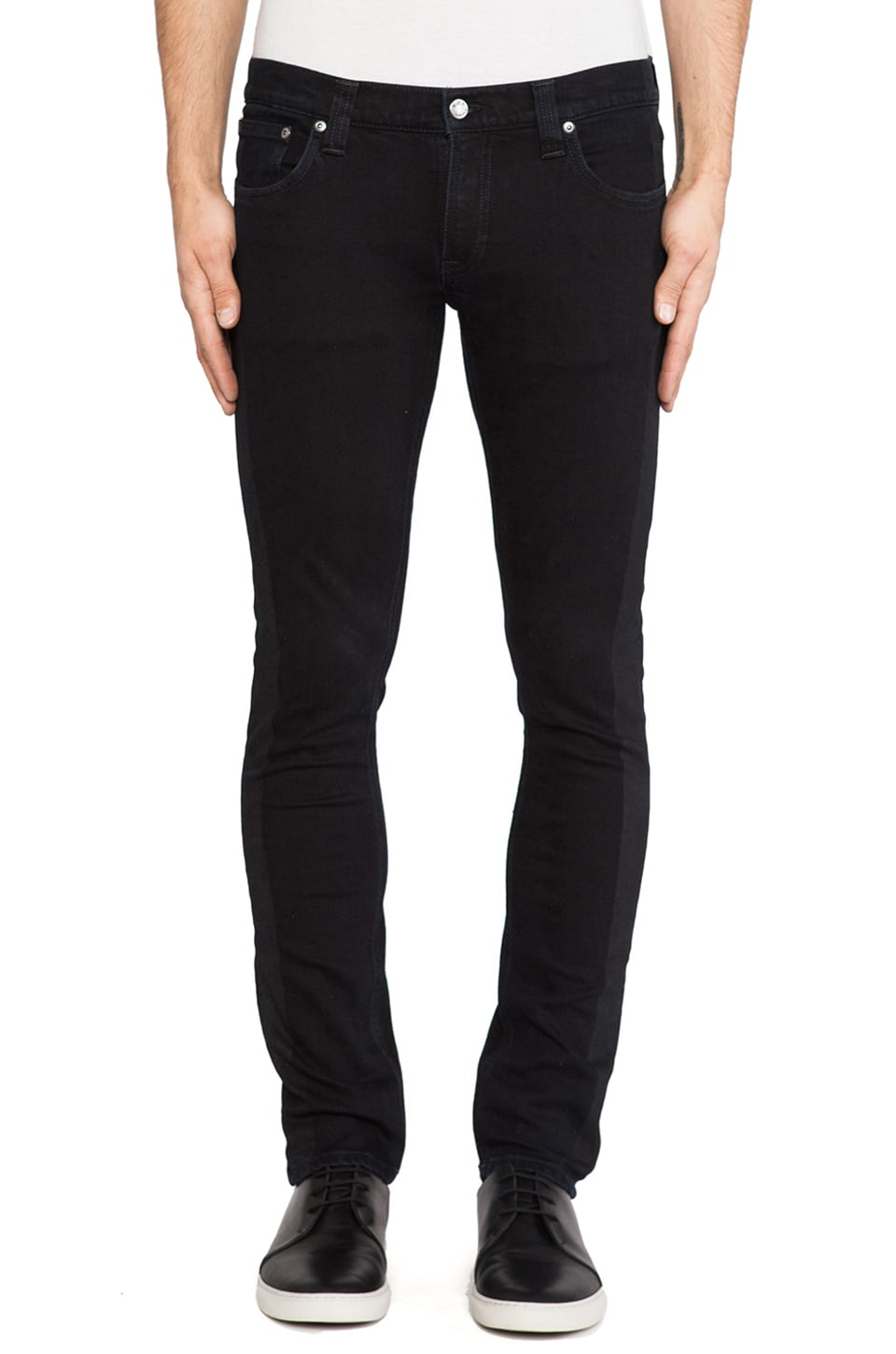 Nudie Jeans Tight Long John in Org. Black on Black