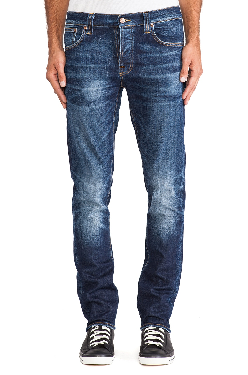 Nudie Jeans Grim Tim in Cold Crisp
