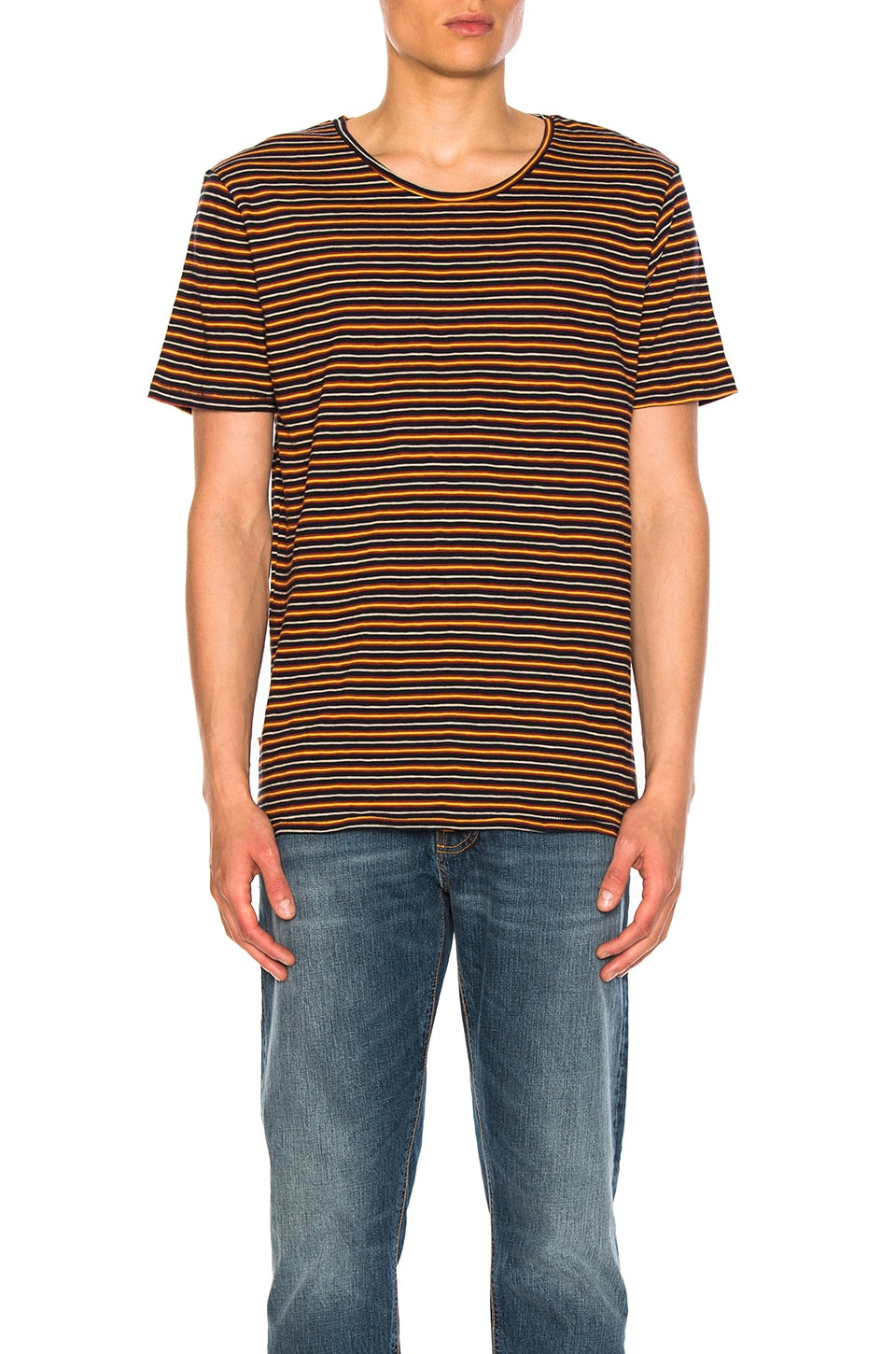 Ove Plural Stripe Tee by Nudie Jeans