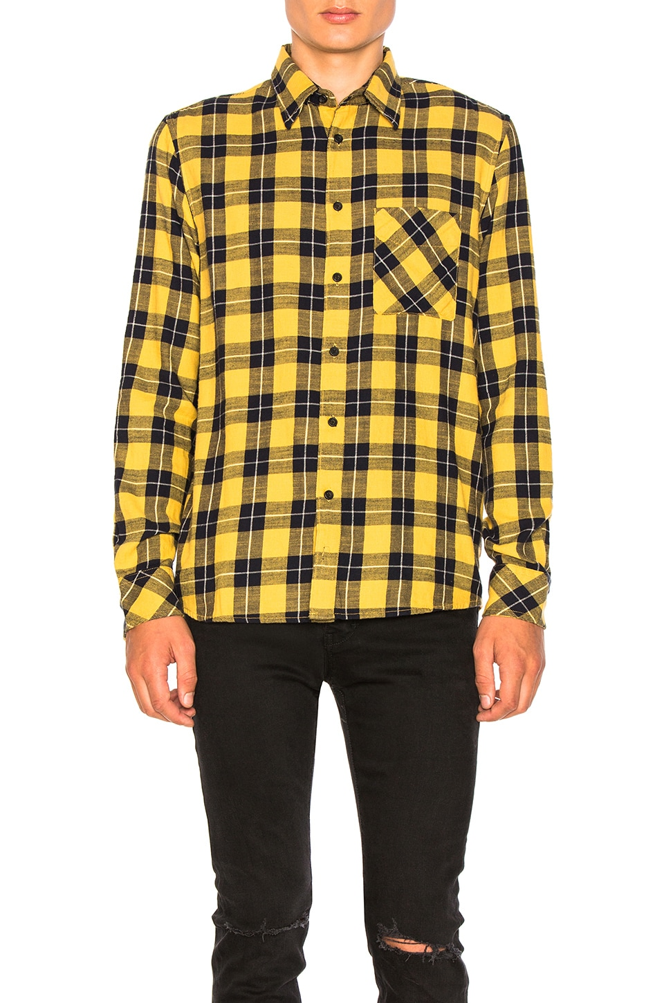 Sten Block Check Button Down by Nudie Jeans