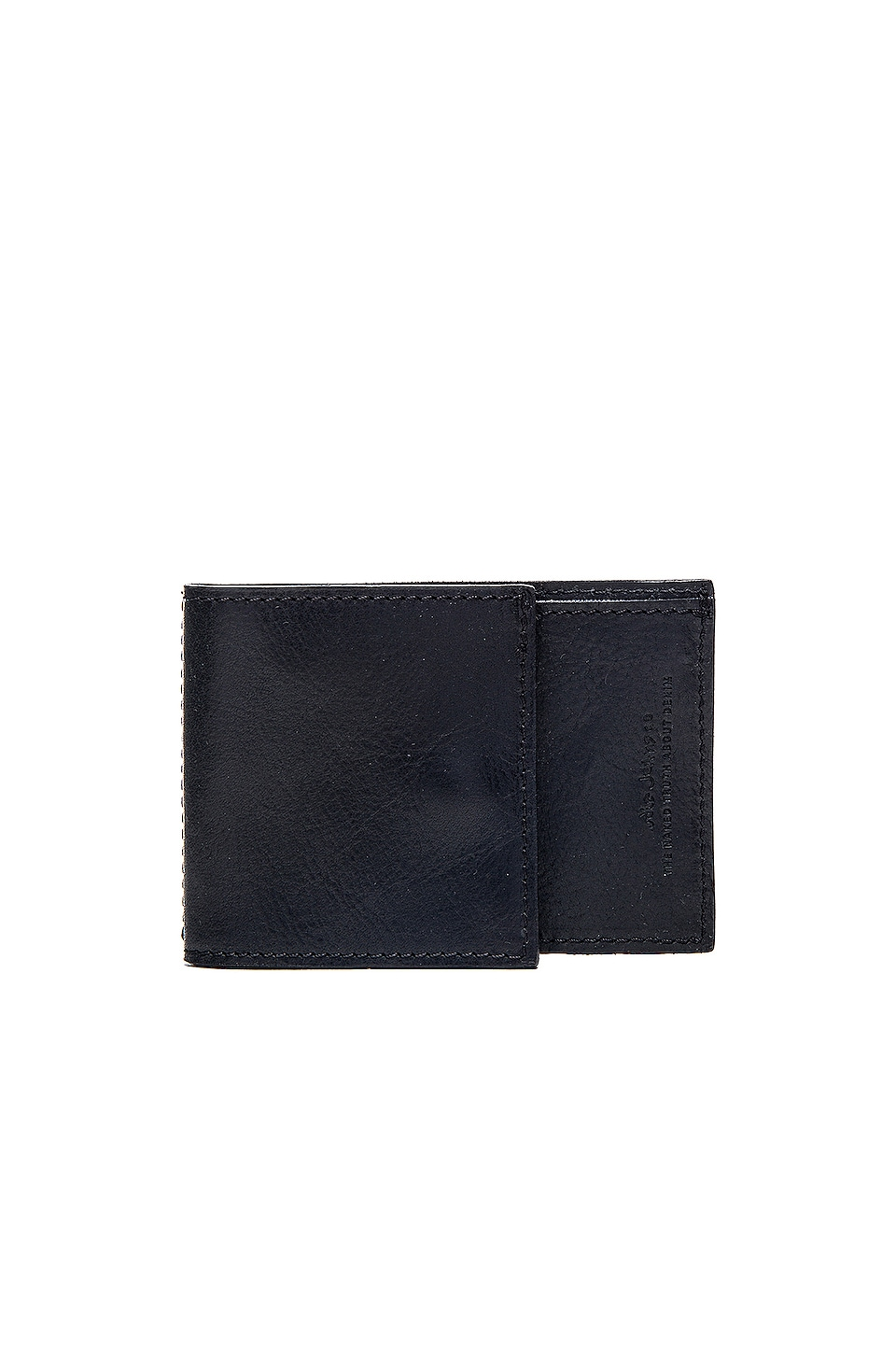 Nudie Jeans Olasson Wallet in Black
