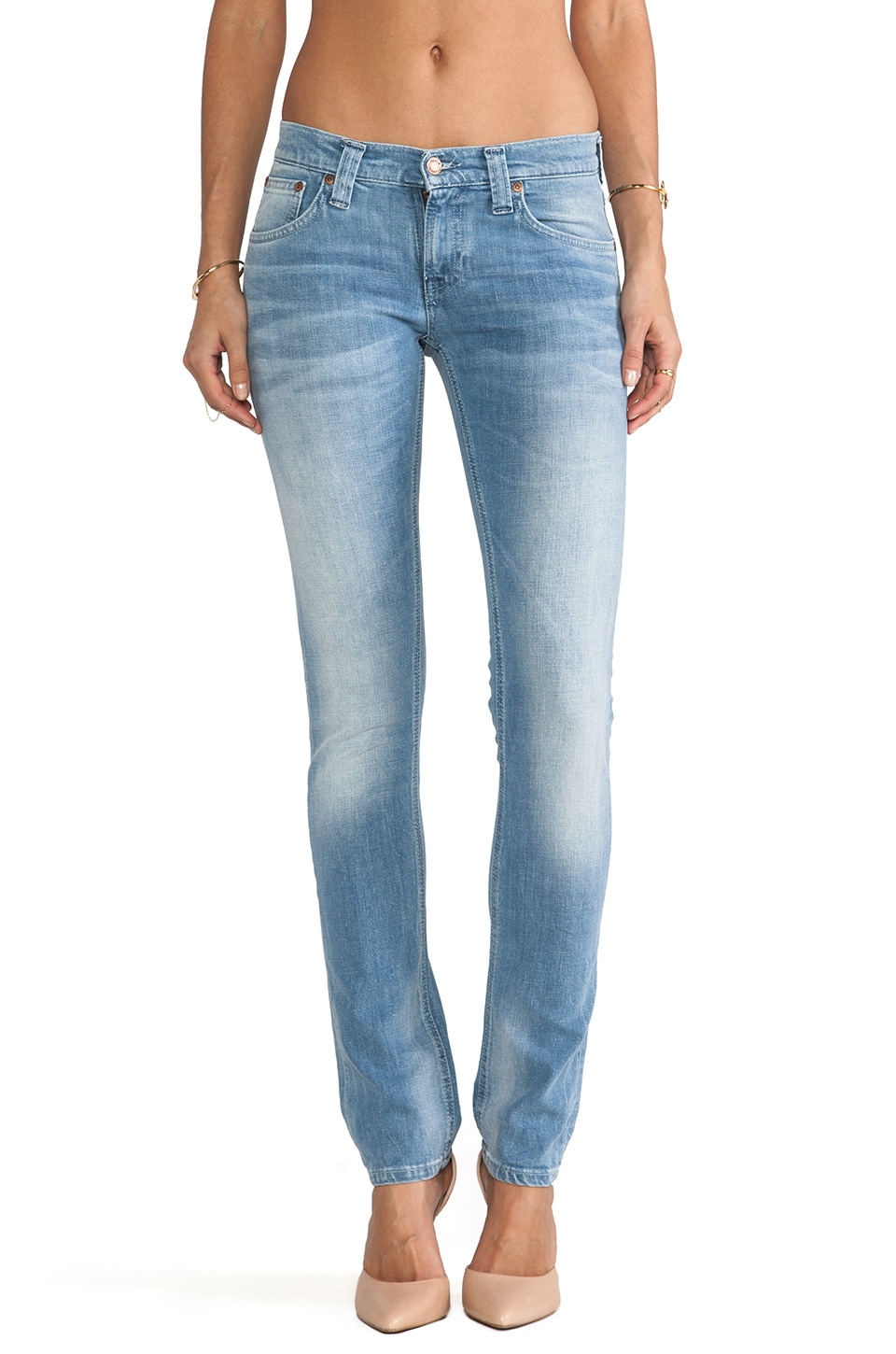 Nudie Jeans Tight Long John in Organic Crisp Indigo