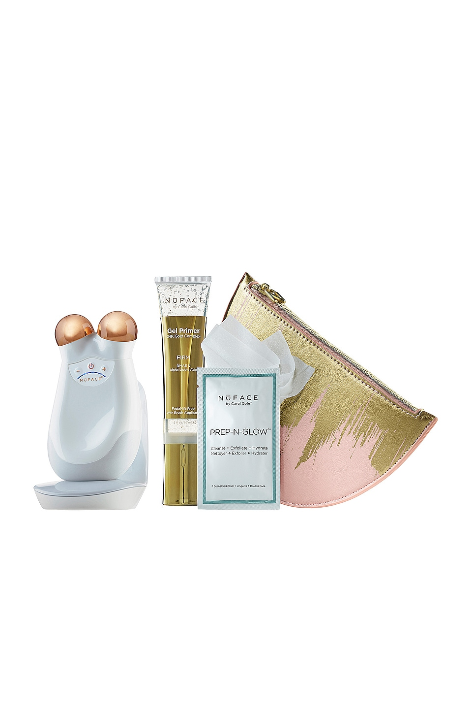 NUFACE Gold Mini Express Skin Toning Collection - Pink