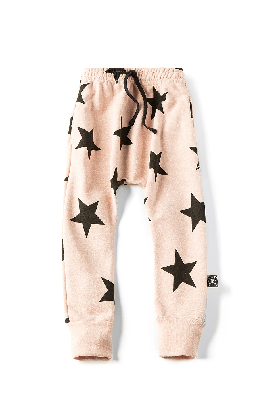 Nununu Star Baggy Pant in Powder Pink