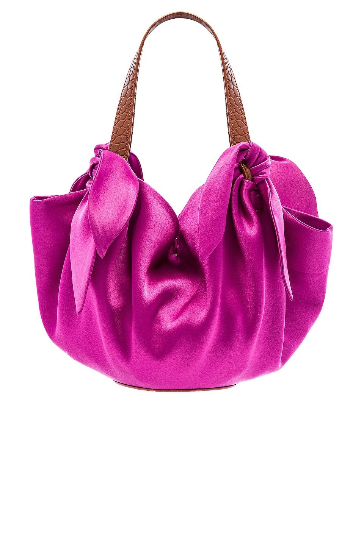 Nanushka Micro Inda Bag in Rosebud