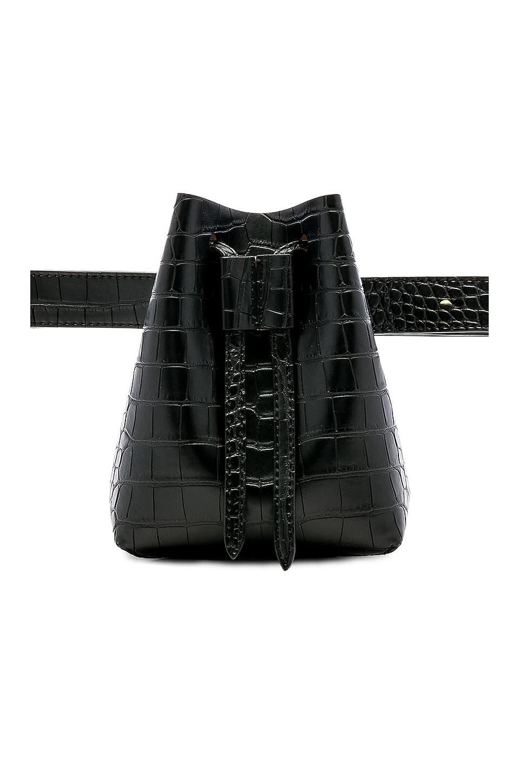 Nanushka Minee Bag in Black