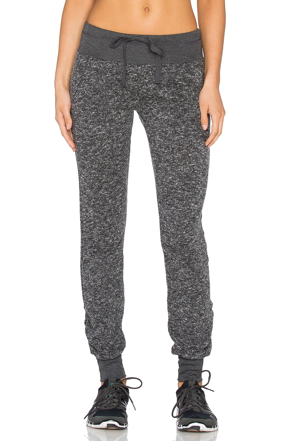 NUX Malibu Sweatpant in Charcoal Tweed