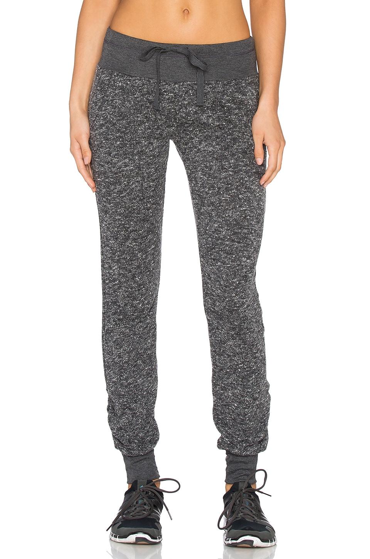 NUX Malibu Sweatpant in Charcoal Tweed