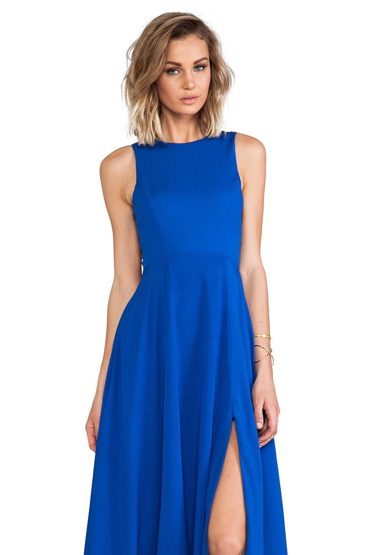 Naven Designer Siren Gown in Vegas Blue