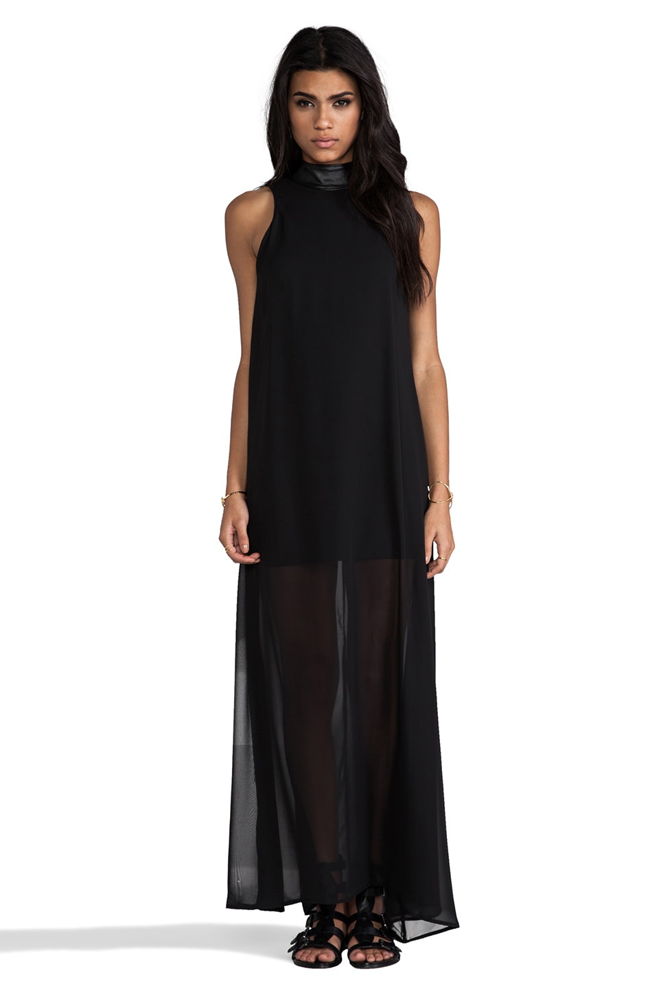 Naven Rebel Maxi Dress in Black