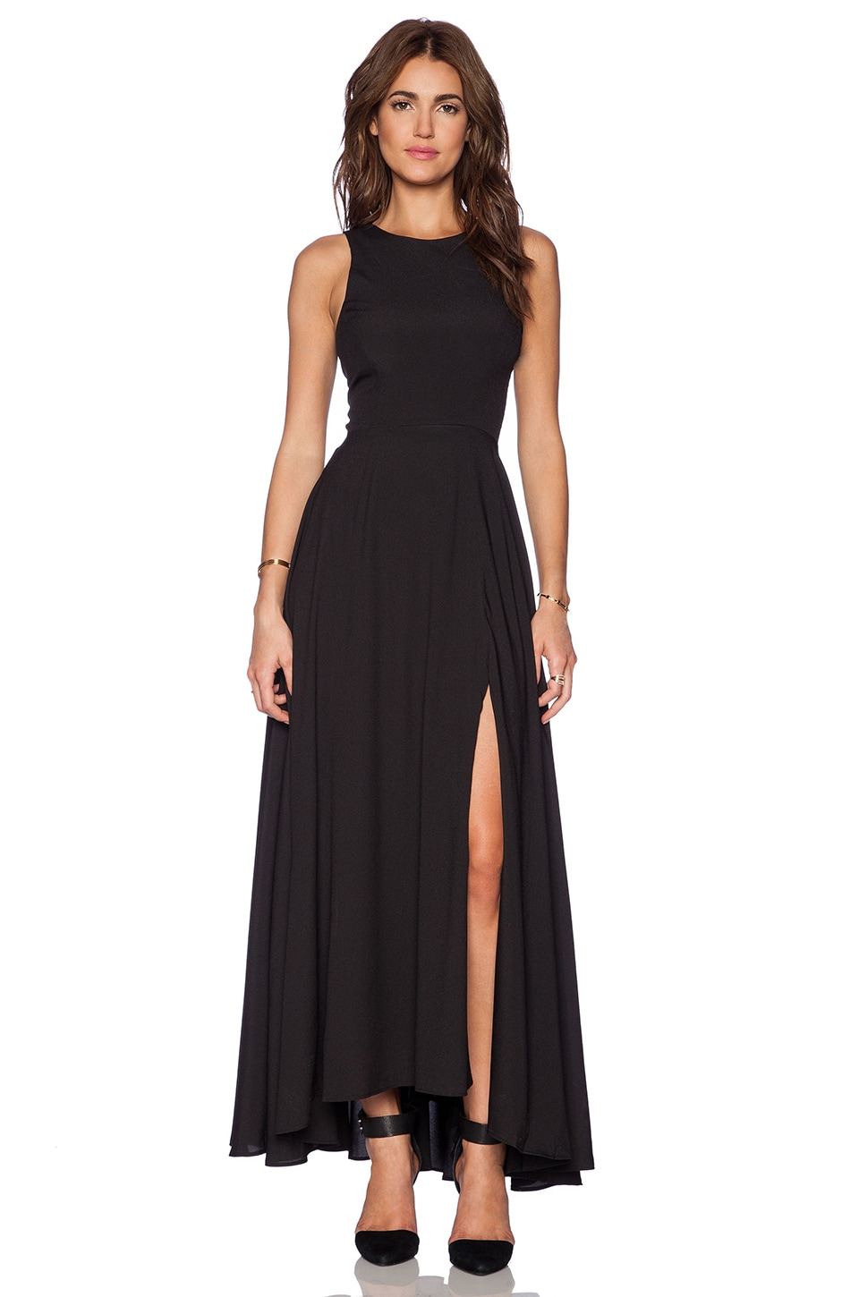 Naven Designer Siren Gown in Black