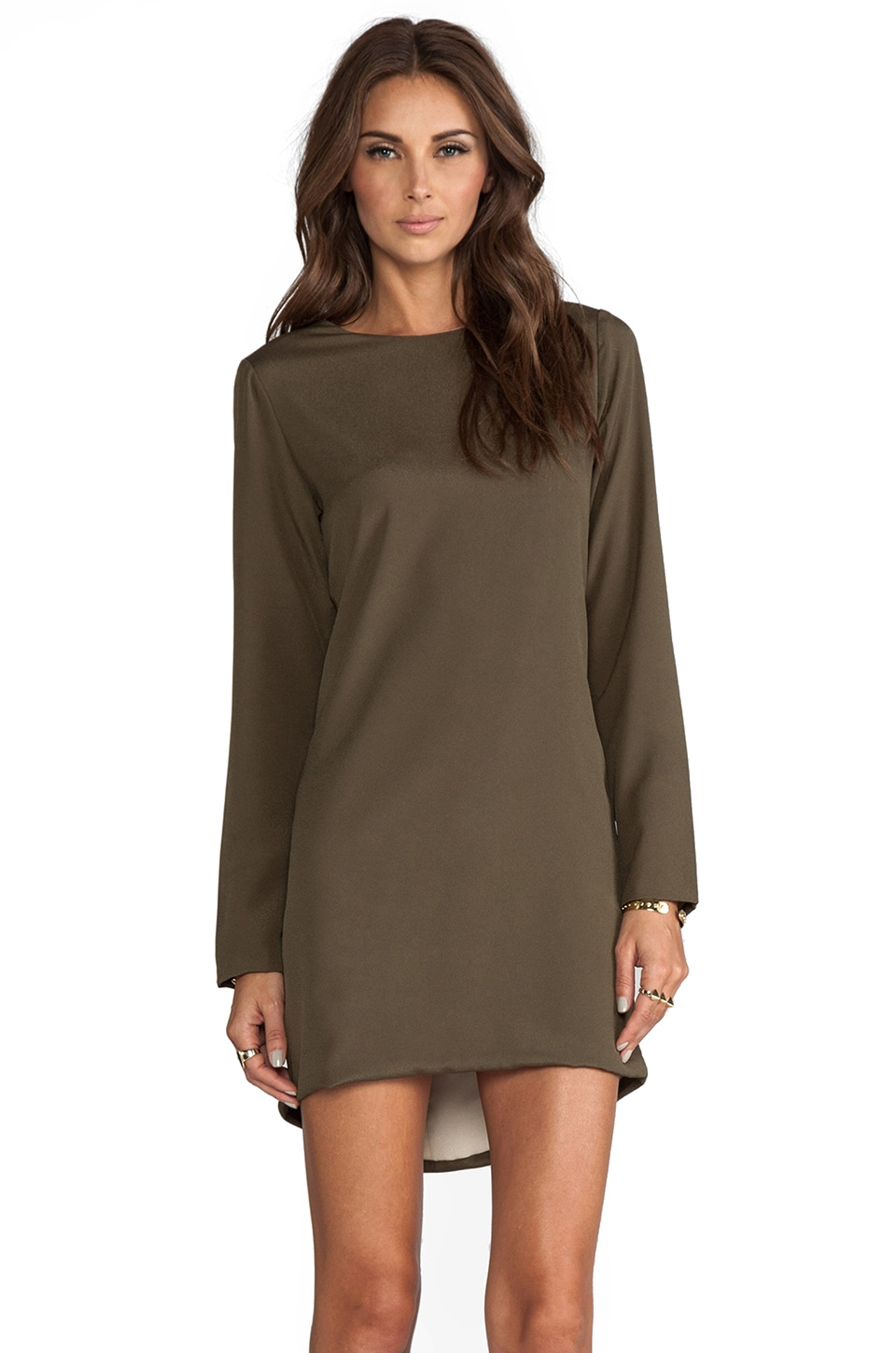 Naven Twiggy Dress in Army