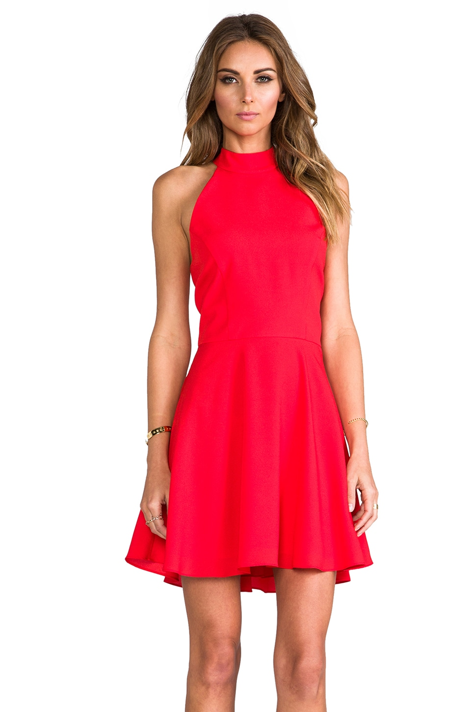 Naven Mia Dress in Red