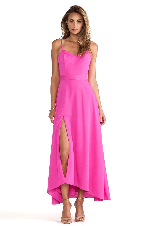 Naven Heartthrob Maxi Dress in Pop Pink