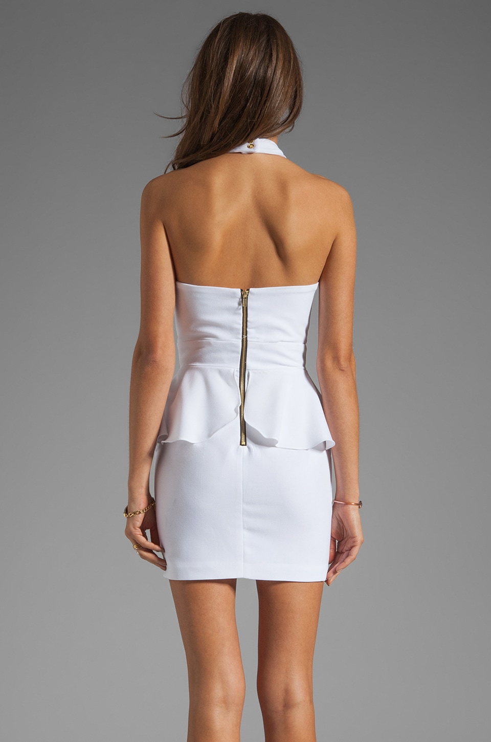Naven Bardot Dress in White