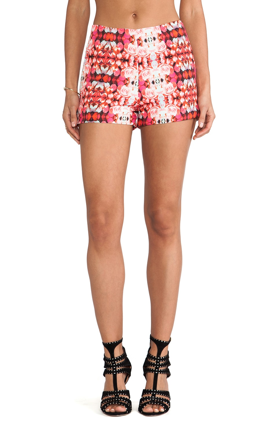 Naven Hot Shorts in Rose Kaleidoscope