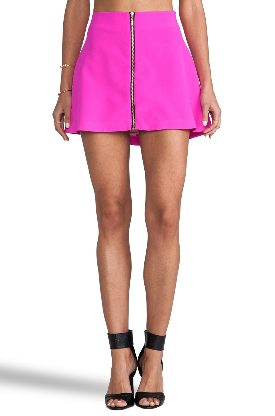 Naven Mod Skirt in Pop Pink